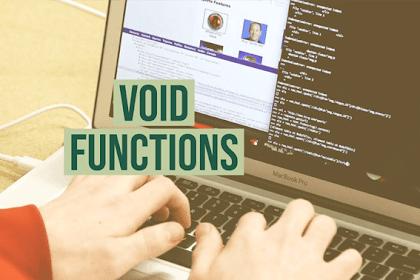 Void Function - Unity Tutorial