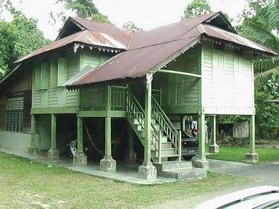 model rumah kampung 4