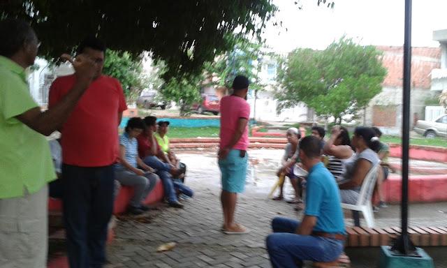 Jac Cerezos Reunion Con Comunidad De Los Cerezos Tema