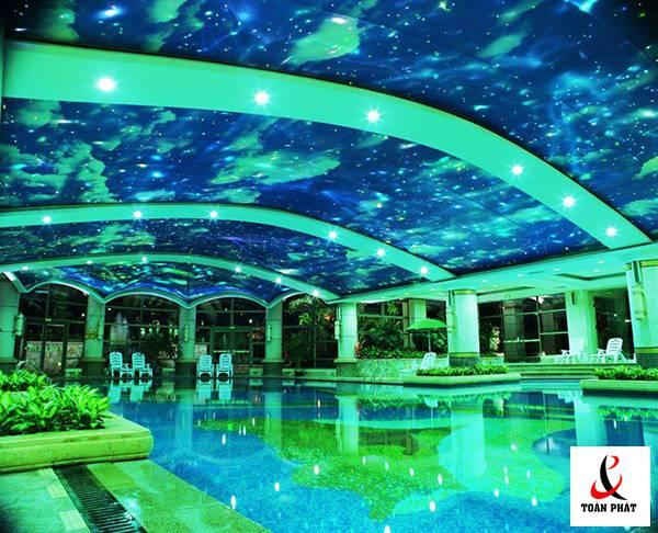 Trần bể bơi xuyên sáng 4