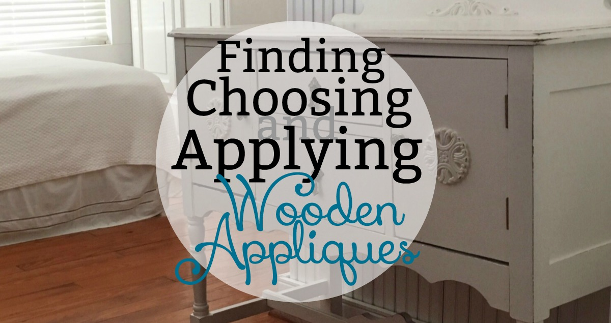 Wood Applique How To