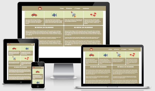 Template Blogger Landing Page Đơn Giản Mà Đẹp