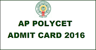 AP POLYCET Hall Tickets