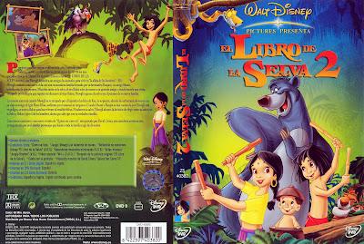 El libro de la selva 2 (2003)  | Caraula | portada | disney imágenes