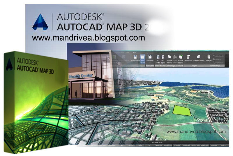 DOWNLOAD AutoCAD Map 3D full version