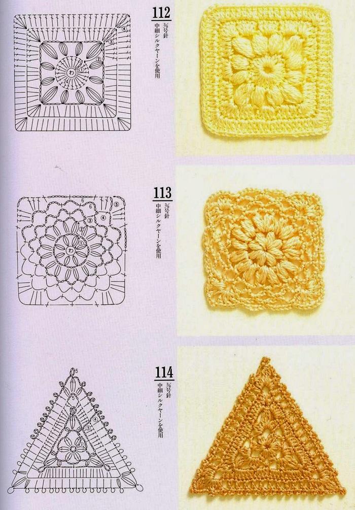Motivos de Crochê Com Gráfico 13