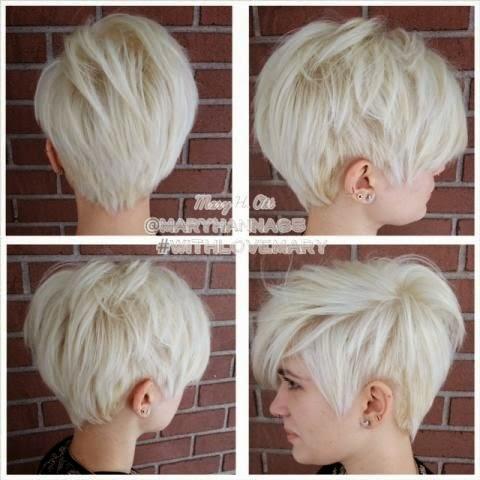 Platinum Short Haircuts The Haircut Web