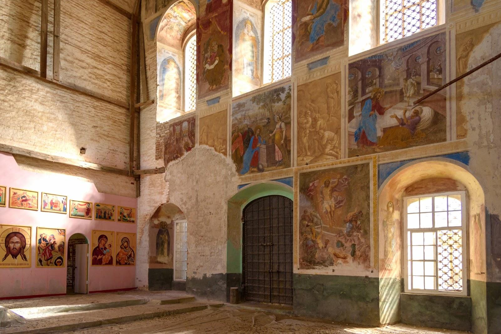 Фрески церкви Усекновения главы Иоанна Предтечи