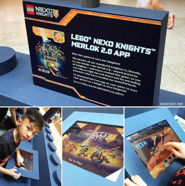 Download the NEXO Knights Merlok 2.0 app, and play to your hearts content, powering up the badges