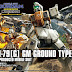 HGUC 1/144 Ground Type GM - Release Info, Box art and Official Images