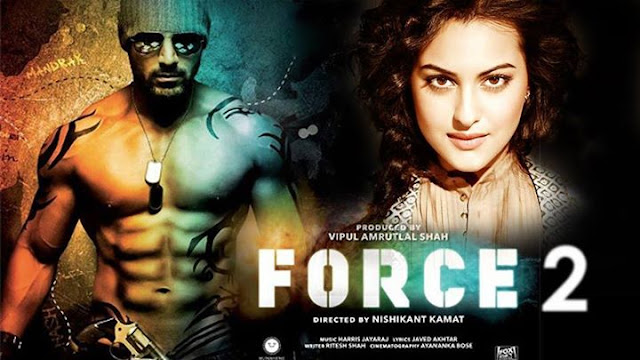 Force 2, Movie Poster, John Abraham, Sonakshi Sinha