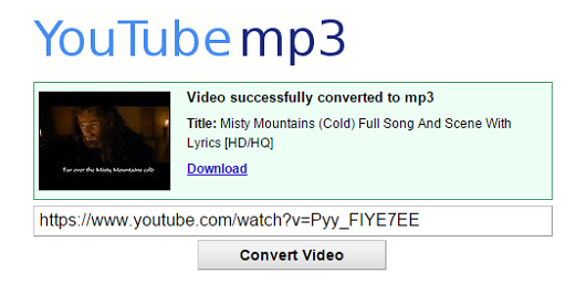 conversor online youtube mp3