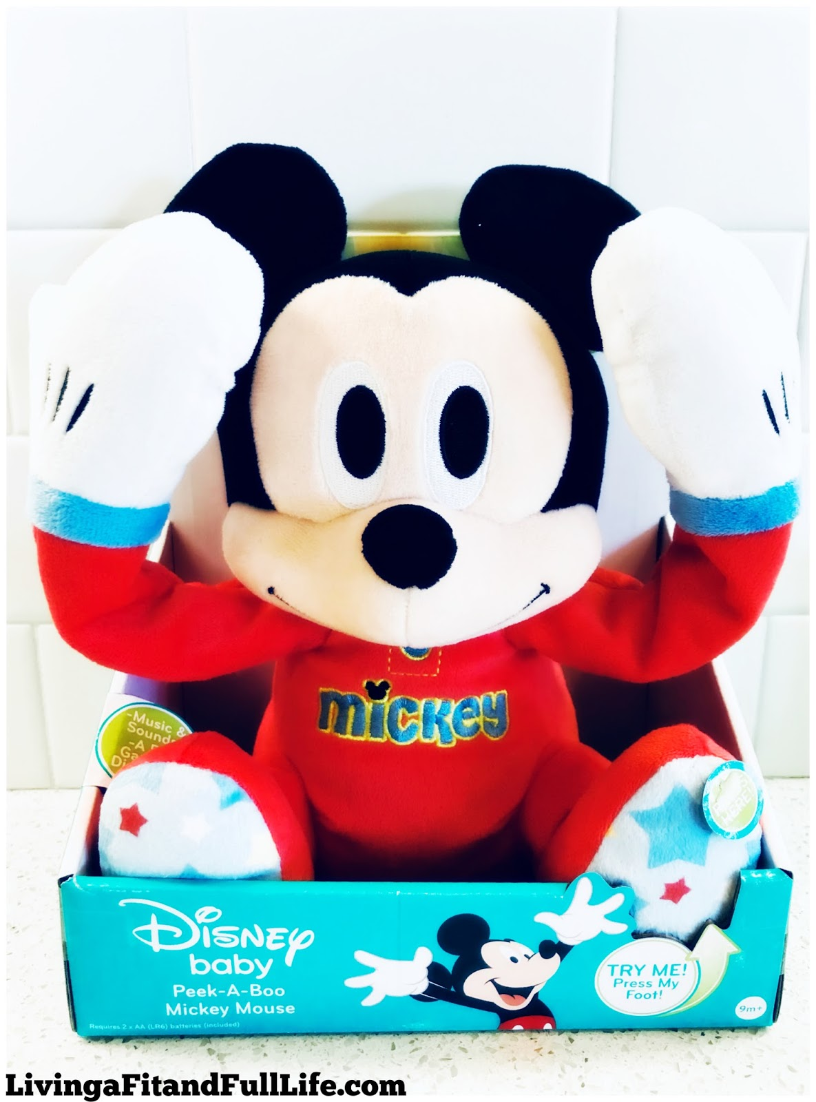 Living A Fit And Full Life Disney Baby Peek A Boo Mickey Mouse And