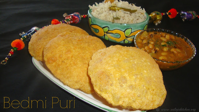 images of Bedmi Puri Recipe / Urad Dal Puri Recipe / Bedmi Poori Recipe