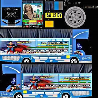 Download Livery Bus Fivety