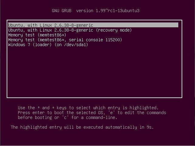 Memperbaiki Dual Boot Loader Linux dan Windows