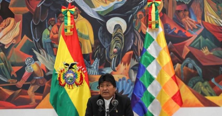 BOLIVIA: Evo Morales gana en primera vuelta en polémicas elecciones generales