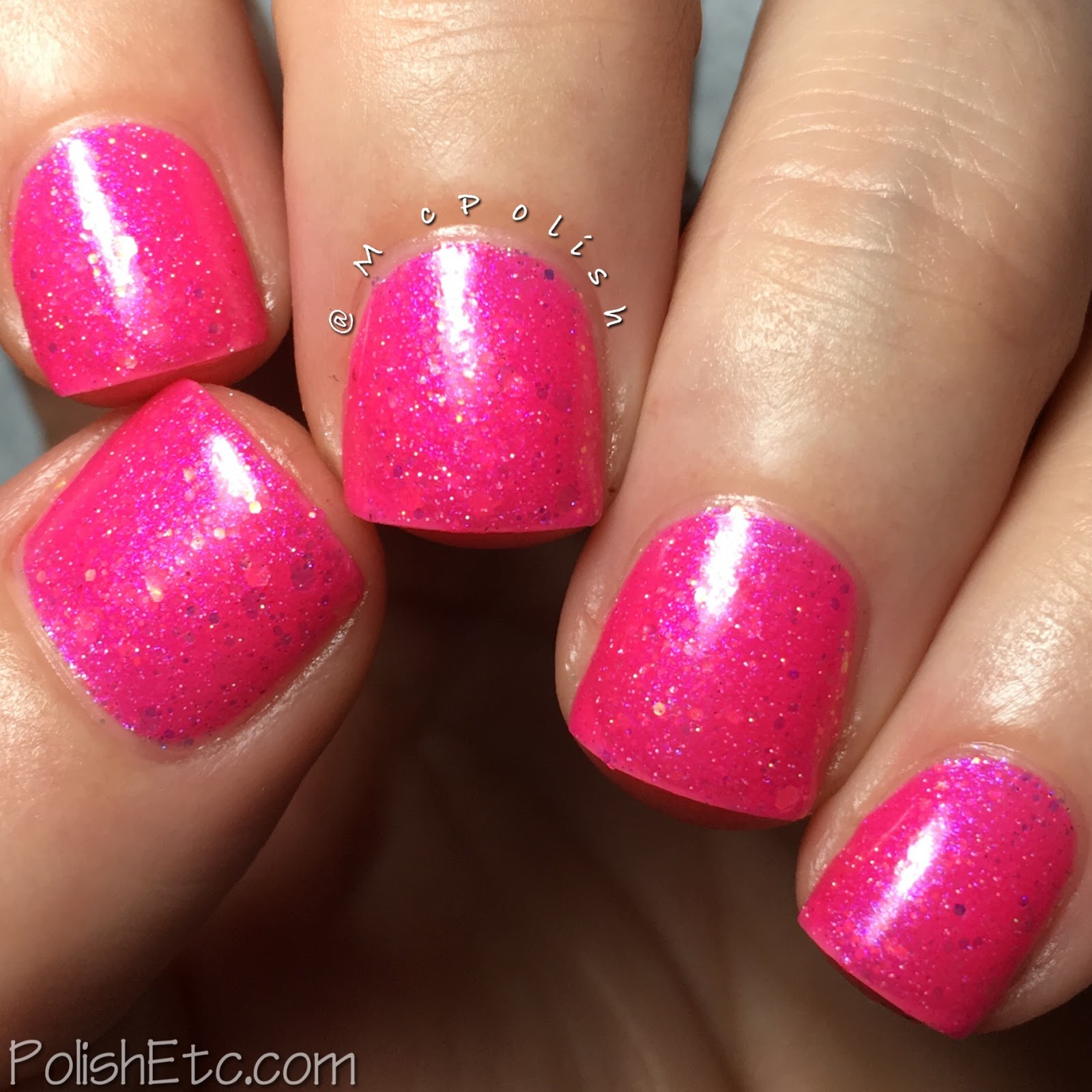 Road to Polish Con - Week 3 - McPolish - Cotton Candy Chaos by Lollipop Posse Lacquer