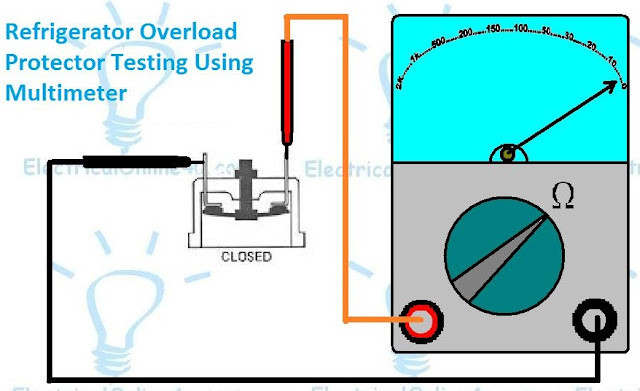 How To Test Refrigerator Overload Protector
