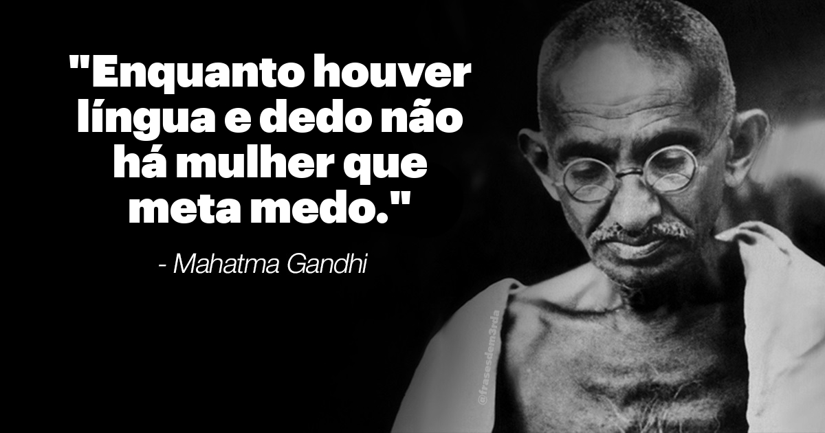 10 frases inspiradoras de Ghandi