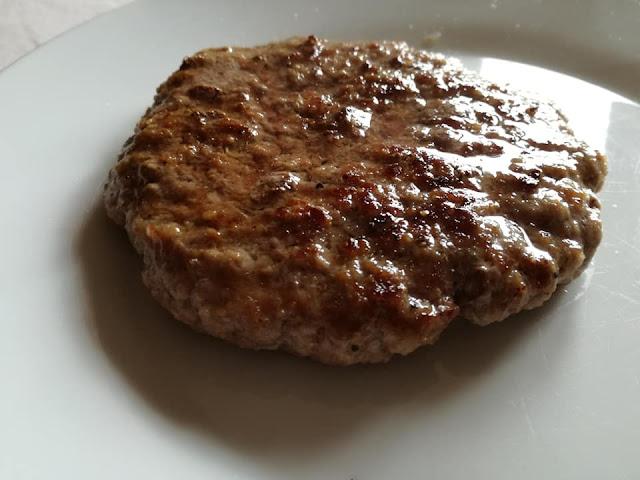 Hamburger cotto alla griglia