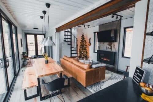 06-View-from-the-Kitchen-The-Box-Hop-Container-Cabin-Architecture-www-designstack-co