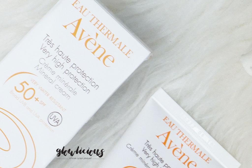 Avene Sunblock Very High Protection Mineral Cream SPF50+ 50ml | Rp. 428.000