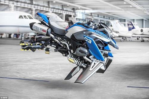 BMW Kembangkan Konsep Motor Terbang di Kehidupan Nyata
