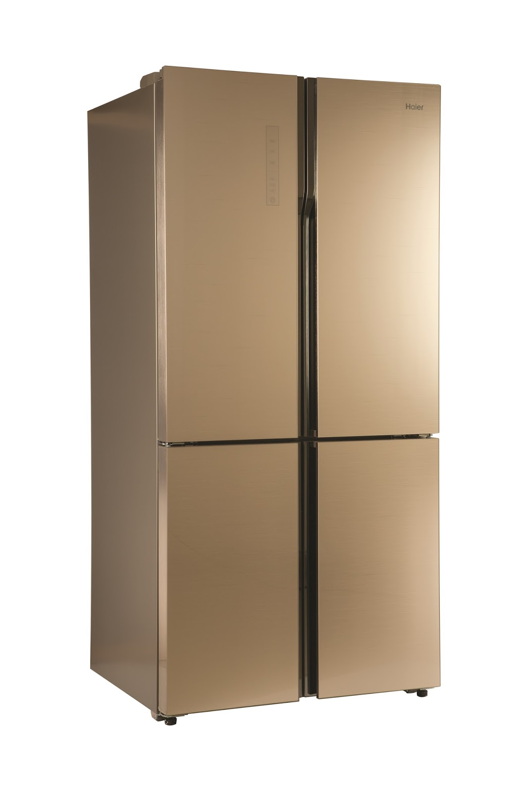 Haier S New Golden Glass Finish 712 Litre 4 Door Refrigerator Launched In India