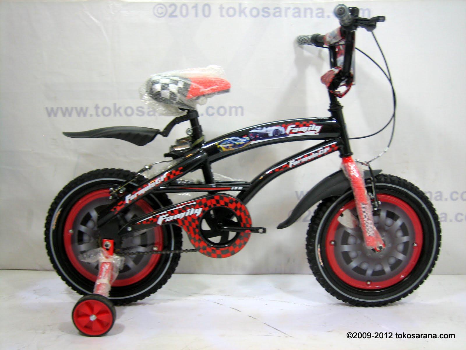 tokosarana™ | Mahasarana Sukses™: Sepeda Anak Family
