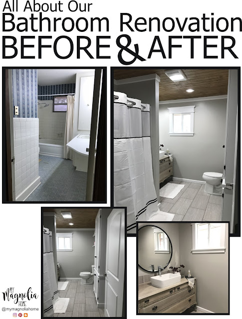My Magnolia Home: Bathroom Renovation Reveal