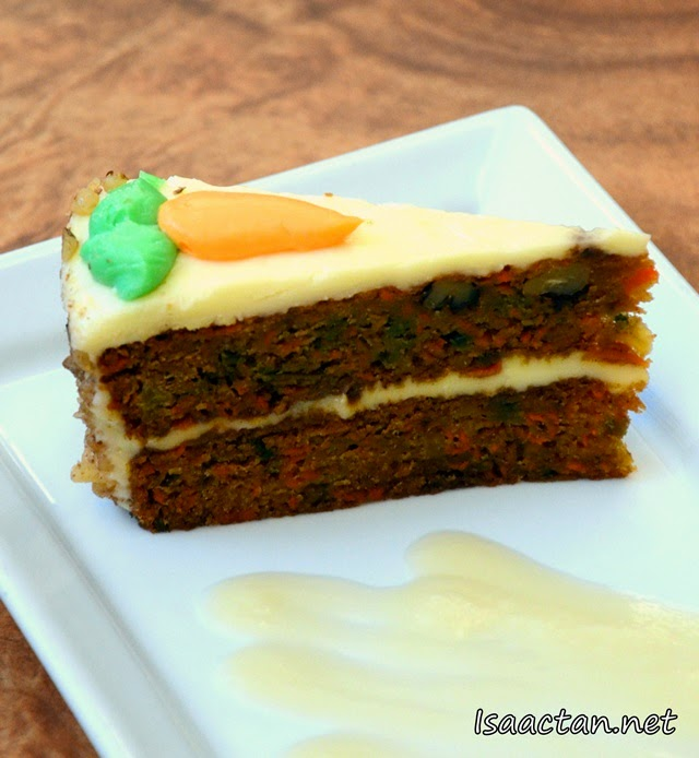 #9 Two high Carrot Cake - RM18.90