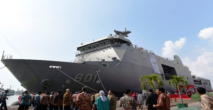 Kebanggan Indonesia Telah Menjual Kapal Perang Tercanggih