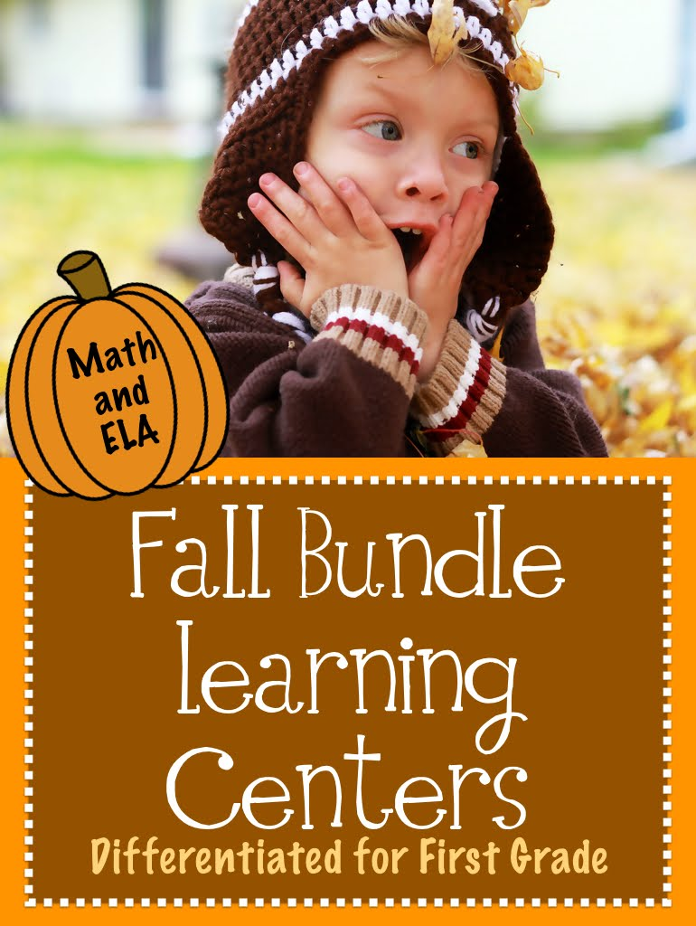 Differentiated Fall Learning Centers Bundle
