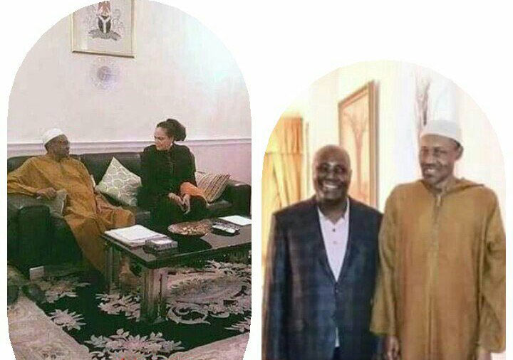 People are saying the photo of Buhari released yesterday was an old picture