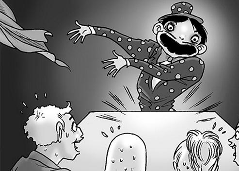 Silent Horror chap 60: Ảo thuật