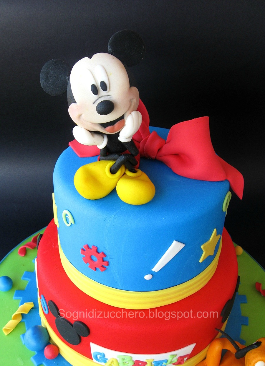 Mickey Mouse Birthday Cake Uk