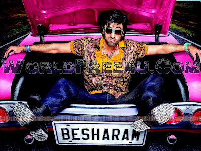 Cover Of Besharam (2013) Hindi Movie Mp3 Songs Free Download Listen Online At worldfree4u.com