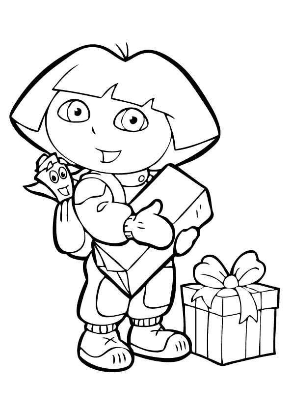 Dora Coloring Pages | Sheets | Pictures