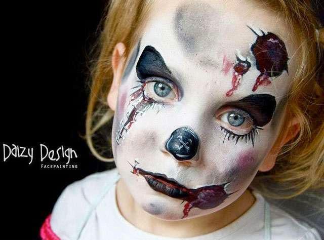 çocukları Hiç Böyle Görmediniz çocuk Yüzboyama Sakarpiyon Foto