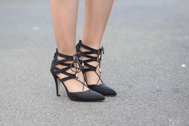 Sammi Jackson - Trendsgal Lace Up Heels