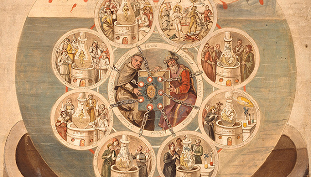 'The Art of Alchemy' at the Getty Research Institute, Getty Center