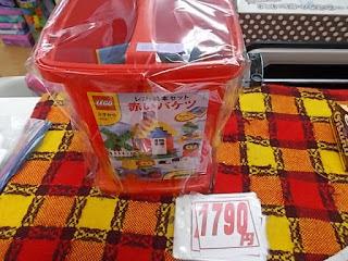 中古品のレゴ赤いバケツ1790円