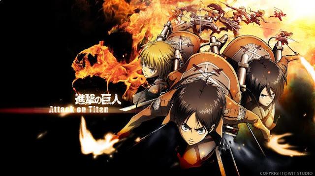 Shingeki no Kyojin - Anime Action Fantasy Terbaik dan Terseru