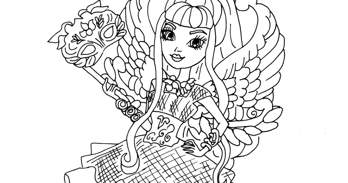 Free Printable Ever After High Coloring Pages C A Cupid