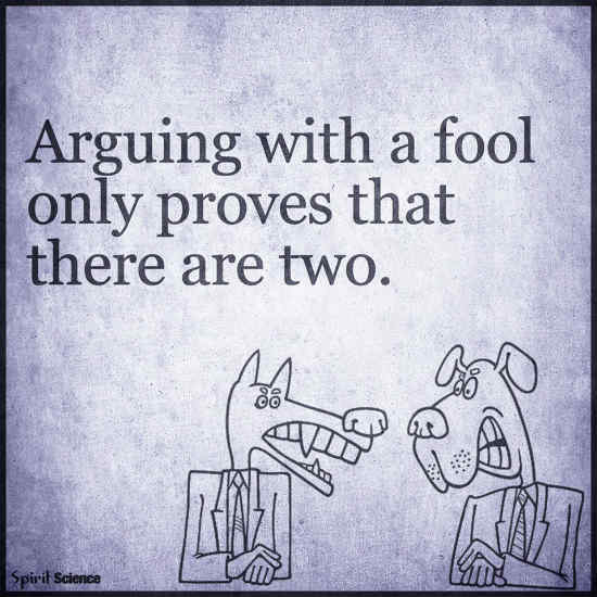 Arguing With A Fool Only Proves That There Are Two 101 Quotes
