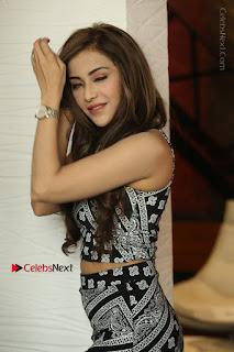 Telugu Actress Angela Krislinzki Latest Pos in Short Dress  0073.JPG