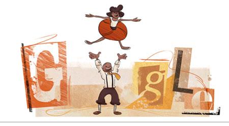 Frankie Manning Google Doodle