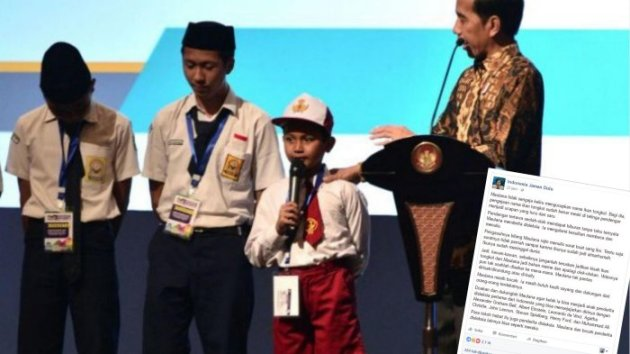 Ini Sosok AR, Anak SD yang Salah Sebut Ikan Tongkol di Hadapan Jokowi