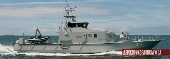 французький патрульний катер OCEA FPB 98